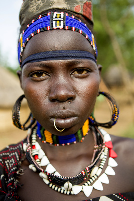 Women in Boma, South Sudan