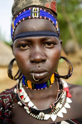 Women in Boma, South Sudan