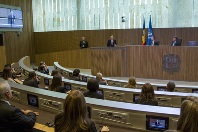 Secretary-General Addresses Andorran Parliament
