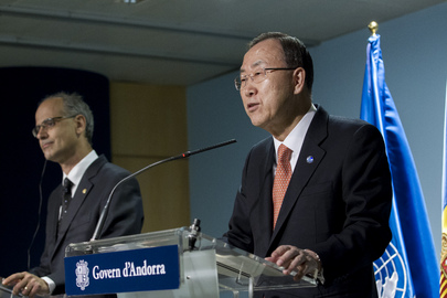 Press Conference by Secretary-General and Andorran Head of Government