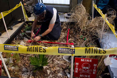 Event Marking Mine Awareness Day