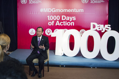 MDG Momentum: 1,000 Days of Action