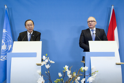 Press Conference by Secretary-General and Dutch Foreign Minister