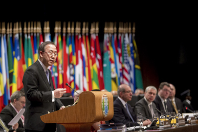 Opening of Third Review Conference of Chemical Weapons Convention