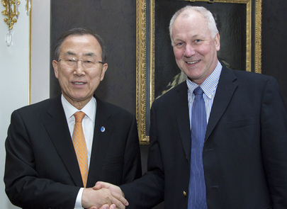 Secretary-General Meets Head of Technical Mission for Syria
