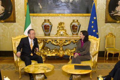 Secretary-General Meets Head of Lower House of Italy