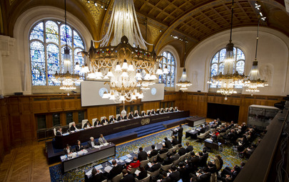 ICJ Public Sitting in the Case Concerning Temple of Preah Vihear (Cambodia v. Thailand)