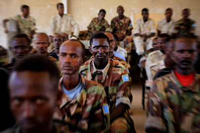 Somali Officers Graduate from AMISOM-Led Training Course