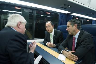 Secretary-General Travels Green to Washington