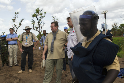 Peacekeeping Official Visits Torit, South Sudan