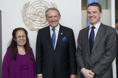 Deputy Secretary-General Meets Ministers of Denmark and Timor-Leste
