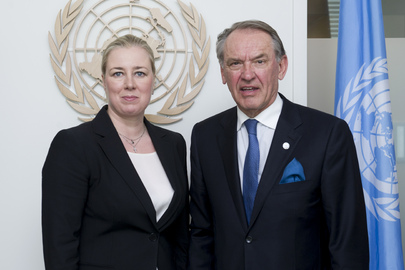 Deputy Secretary-General Meets Finance Minister of Finland