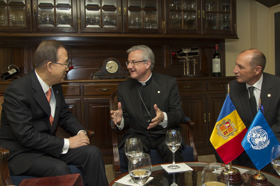Secretary-General Meets Co-Prince of Andorra