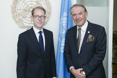 Deputy Secretary-General Meets Swedish Migration Minister