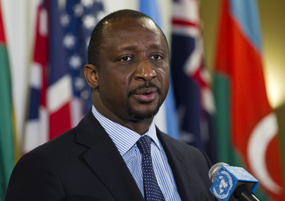 Foreign Minister of Mali Briefs Media