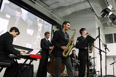 Brubeck Institute Jazz Quintet Marks International Jazz Day at UN