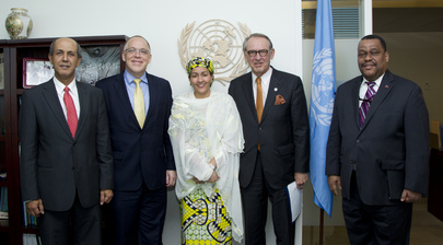 Deputy Secretary-General Meets Envoys for Post-2015 Development Agenda
