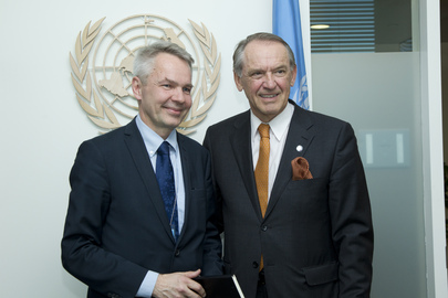 Deputy Secretary-General Meets Finland's Special Envoy for Horn of Africa and Sudan