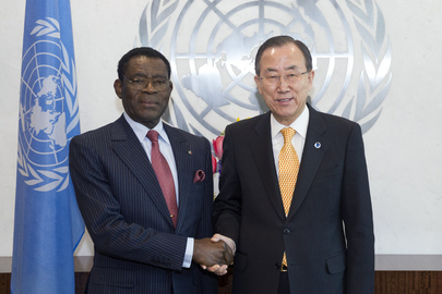 Secretary-General Meets President of Equatorial Guinea