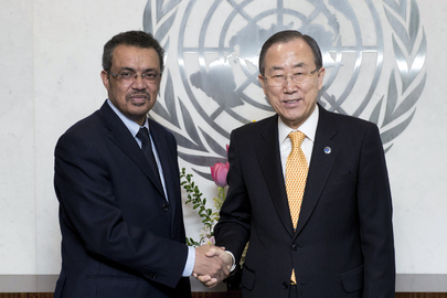 Secretary-General Meets Foreign Minister of Ethiopia