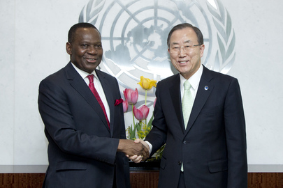 Secretary-General Meets Foreign Minister of Nigeria