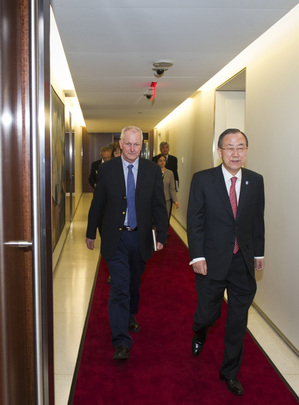 Secretary-General Meets Head of Syria Chemical Weapons Investigation