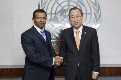 Secretary-General Meets UNESCO Goodwill Ambassador for Education Partnerships