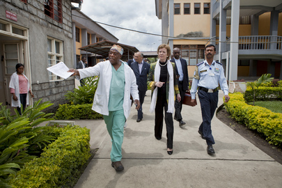 UN Special Envoy for Great Lakes Region Visits Goma, Eastern DRC