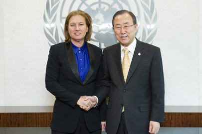 Secretary-General Meets Justice Minister of Israel