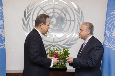 Permanent Representative of Iraq Presents Credentials