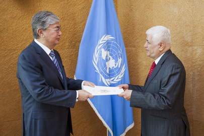 Permanent Representative of Iraq to UNOG Presents Credentials