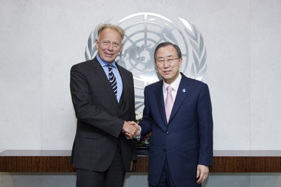 Secretary-General Meets German MP and Head of Green Party