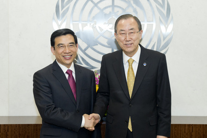 Secretary-General Meets Mayor of Beijing and Chairman of World Tourism Cities Federation