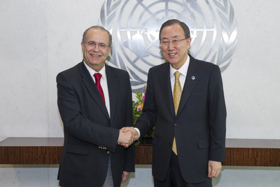 Secretary-General Meets Foreign Minister of Cyprus