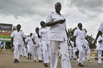 Nurses and Midwives Mark Their International Days in Juba