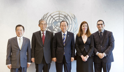 Secretary-General Meets UN Associations Board