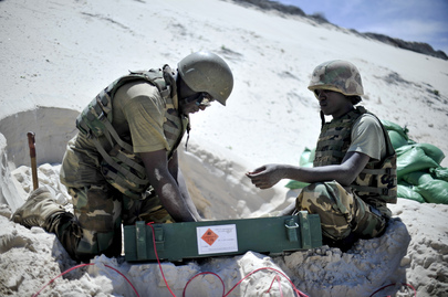 Safe Disposal of Captured Munitions by AMISOM