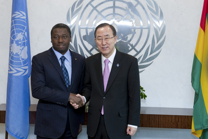 Secretary-General Meets President of Togo