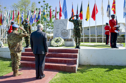 UN Peacekeeping Chief Visits UNIFIL Headquarters in Naqoura