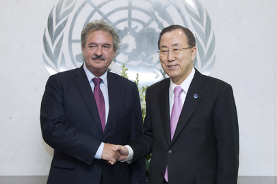 Secretary-General Meets Foreign Minister of Luxembourg