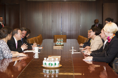Secretary-General Meets Austria's Interior Minister