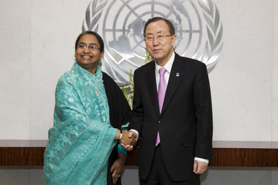 Secretary-General Meets Foreign Minister of Bangladesh