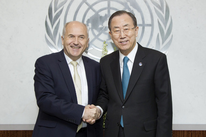 Secretary-General Meets High Representative for Bosnia and Herzegovina
