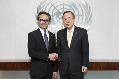 Secretary-General Meets Foreign Minister of Indonesia