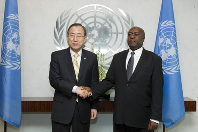 Secretary-General Meets with New Permanent Representative of Uganda