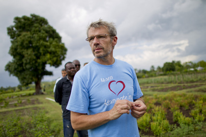 French Actor Lambert Wilson Visits Haiti