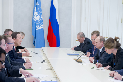 Secretary-General Meets with President of Russian Federation