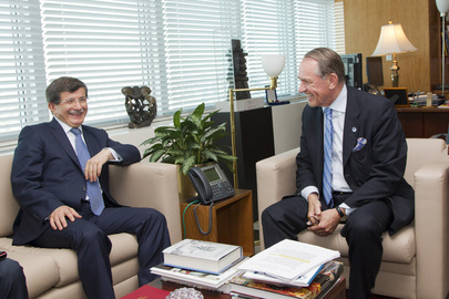 Deputy Secretary-General Meets Foreign Minister of Turkey