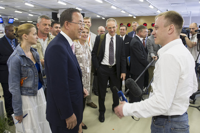 Secretary-General Visits RIA Novosti