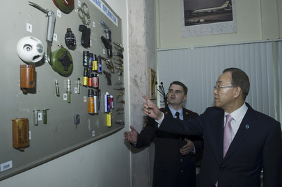 Secretary-General Visits Drug Control Training Centre in Russia